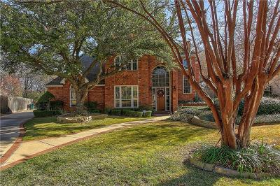 Denton Single Family Home For Sale: 717 Lafayette Drive