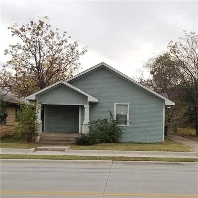Fort Worth Single Family Home For Sale: 3308 E Rosedale Street