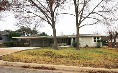 Fort Worth Single Family Home For Sale: 6836 Fortune Road