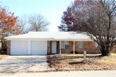 Richland Hills TX Single Family Home For Sale: $180,000