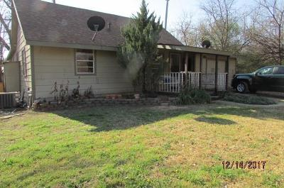 Azle Single Family Home Active Option Contract: 7037 Camp Street
