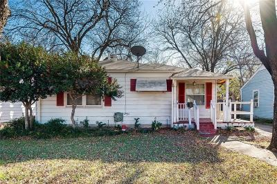 Dallas County Single Family Home For Sale: 1613 Walnut Street
