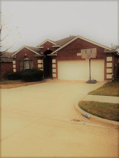 Fort Worth Residential Lease For Lease: 6036 Horse Trap Drive