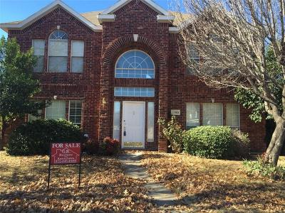 Lewisville Single Family Home For Sale: 1100 Christopher Lane
