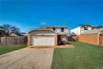 Grapevine Single Family Home For Sale: 1825 Sonnet Drive
