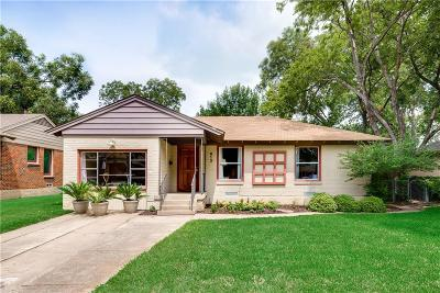 Dallas Single Family Home For Sale: 612 Aqua Drive