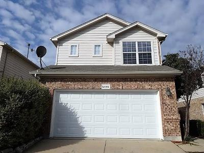 Fort Worth Residential Lease For Lease: 6449 Geneva Lane
