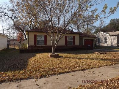 Garland TX Single Family Home For Sale: $179,999
