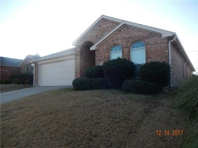 Fort Worth Residential Lease For Lease: 13121 Evergreen Drive