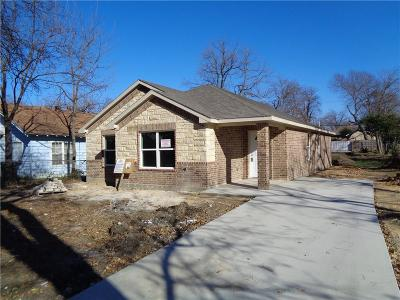 Dallas TX Single Family Home For Sale: $169,000