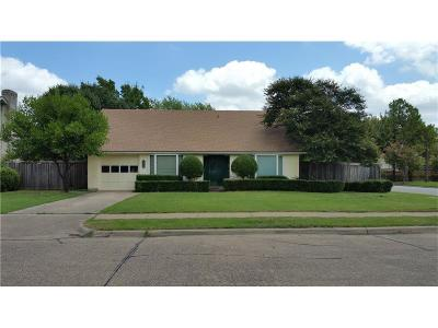 Irving TX Single Family Home For Sale: $180,000