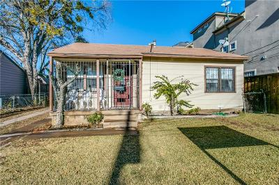 Dallas Single Family Home For Sale: 3523 Miles Street