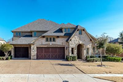 McKinney Single Family Home Active Contingent: 900 Thornapple Drive