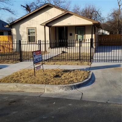 Tarrant County Single Family Home For Sale: 905 E Cantey Street