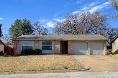 Euless Single Family Home For Sale: 1203 Crane Drive