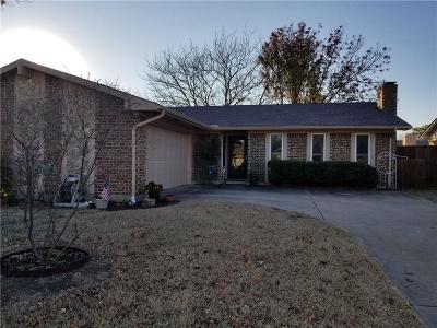 Allen Single Family Home For Sale: 1003 Roaring Springs Drive