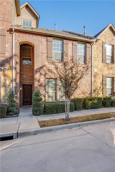Carrollton Townhouse For Sale: 2813 Sheridan Drive