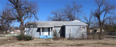 Dallas TX Single Family Home For Sale: $95,000