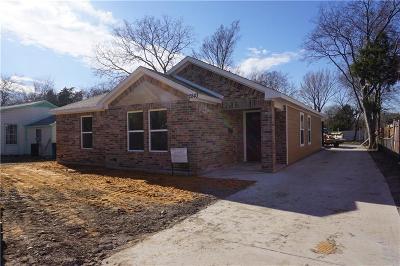 Dallas TX Single Family Home For Sale: $176,000