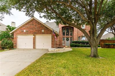 Flower Mound Single Family Home Active Option Contract: 3421 Dorchester Court