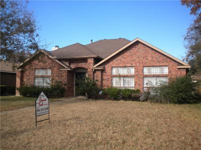 Dallas TX Single Family Home For Sale: $189,000
