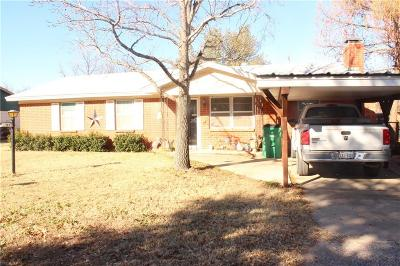 Eastland Single Family Home Active Contingent: 102 McWood