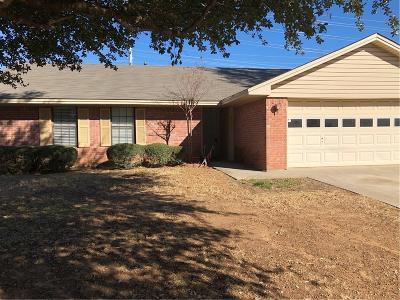 Denton Single Family Home For Sale: 2533 Quail Ridge Drive