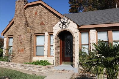 Dallas Single Family Home For Sale: 3422 W Jefferson Boulevard