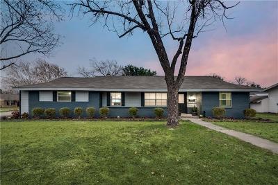 Frisco Single Family Home Active Option Contract: 9580 Magnolia Road