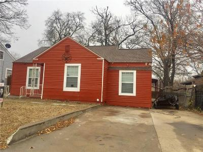 Fort Worth Single Family Home For Sale: 2508 S Jones Street