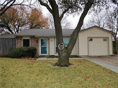 Denton County Single Family Home For Sale: 4237 Driscoll Drive