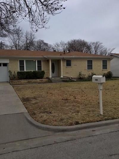 Hurst Single Family Home Active Option Contract: 1004 Zelda