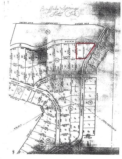Comanche Residential Lots & Land For Sale: Tbd Apache Lane