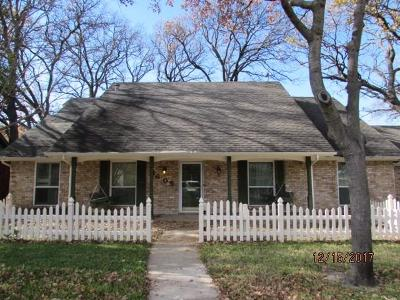Irving Single Family Home Active Option Contract: 1605 Oak Meadow Drive