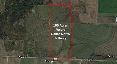 Gunter TX Commercial Lots & Land For Sale: $3,000,000