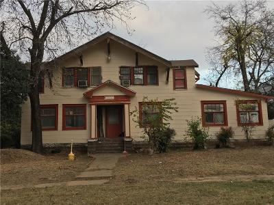 North Fort Worth Single Family Home For Sale: 1010 15th Street NW