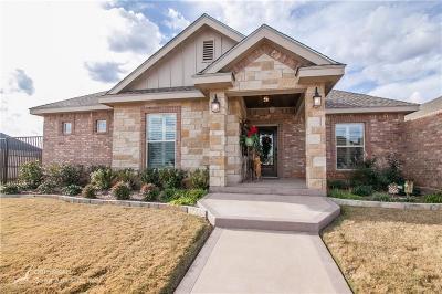 Abilene Single Family Home For Sale: 25 Mesa Ridge