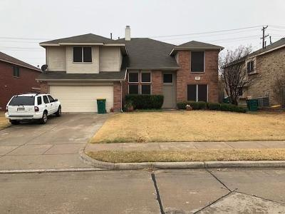 Cedar Hill Single Family Home Active Contingent: 821 Rainbow Lane