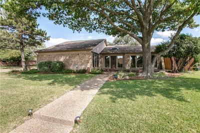 Plano Single Family Home Active Option Contract: 2808 Jeremes Landing