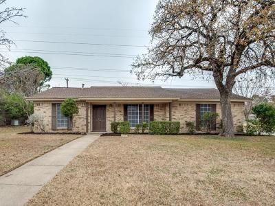 Hurst Single Family Home Active Option Contract: 600 Tumbleweed Drive