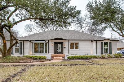 Richardson Single Family Home For Sale: 810 Clearwater Drive
