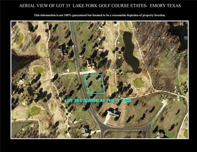 Emory Residential Lots & Land For Sale: Lot 35 Private Road 5940