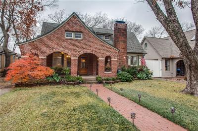 Dallas Single Family Home For Sale: 1011 N Clinton Avenue
