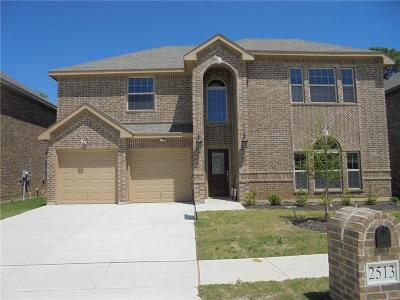 Bedford, Euless, Hurst Single Family Home For Sale: 2513 Serene Court