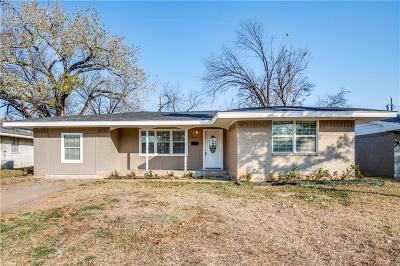 Irving Single Family Home For Sale: 2503 Himes Street