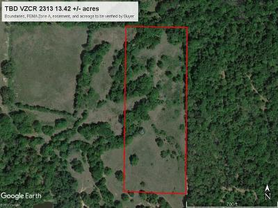Canton Residential Lots & Land For Sale: Tbd Vz County Road 2313