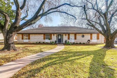 Benbrook Single Family Home Active Option Contract: 4017 Sundown Drive