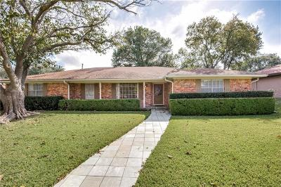 Plano Single Family Home Active Option Contract: 1708 Westridge Drive