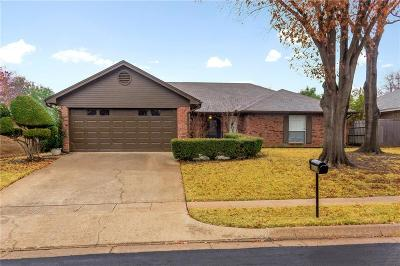 Euless Single Family Home Active Option Contract: 2206 Eva Lane