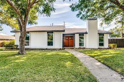 Plano Single Family Home Active Option Contract: 6544 Chinaberry Trail